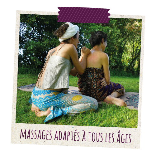 Massage personnes agées